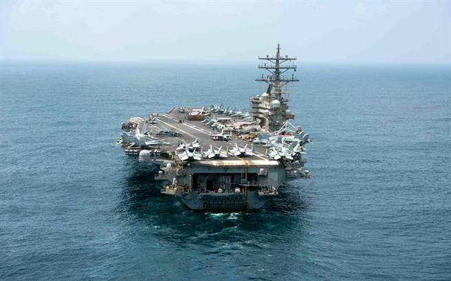 美雷根號返回南海與英澳進行聯合演習,共軍在南海頻密演習積極應對。(圖/美國太平洋艦隊)