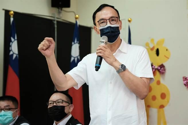 國民黨主席當選人朱立倫。(資料照)
