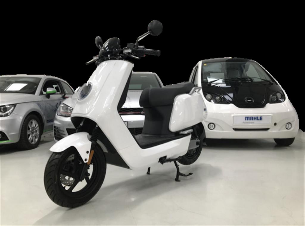 馬勒公司表示,新的電池與電動機組,可用在電動汽車與電動摩托車。(圖/mahle)