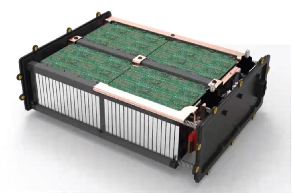 馬勒公司研發的鋰碳電池。(圖/mahle)