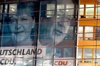 德國大選出口民調難分軒輊  梅克爾所屬政黨失望