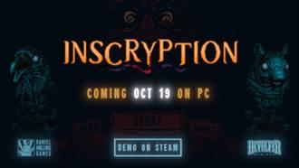Devolver Digital《賭命牌卡 Inscryption》將於 10/19 正式開局 搶先試玩與預告影片同步亮相,Steam 即日起開放預購!