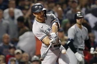 MLB》洋基3戰橫掃紅襪 搶占美聯外卡首席