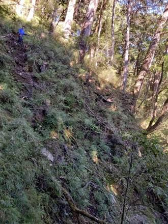 能高安東軍縱走意外 下山前晚山友墜50公尺深谷亡