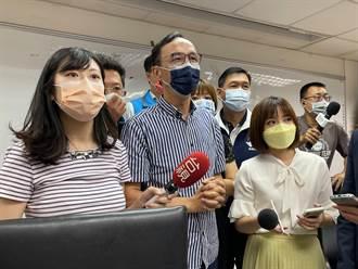 蘇貞昌批不愛台 朱立倫反嗆:愛台就是讓民眾吃萊豬、不給疫苗、紓困不發現金?