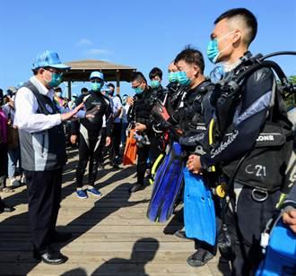 桃市環保潛水隊貢獻心力 將設績優授階獎勵制表揚