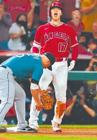 MLB》大谷單場兩支三壘打 今拚投10勝