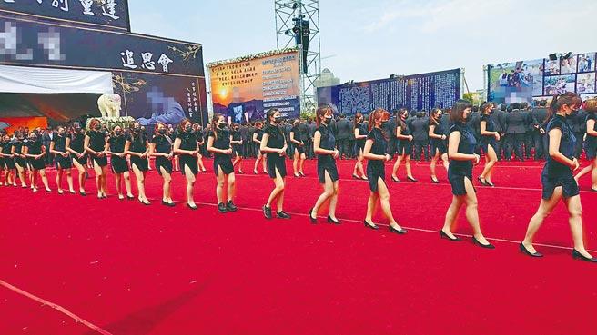 台南市殯葬業者證實,近日不少酒店小姐轉職當禮儀招待。示意圖,非新聞當事人。(本報資料照片)