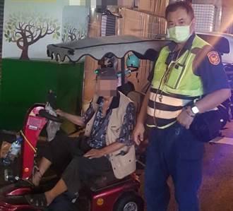 失眠騎車透風 台中90歲公迷途離家一公里外