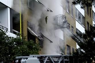 瑞典住宅大樓爆炸 25人送醫