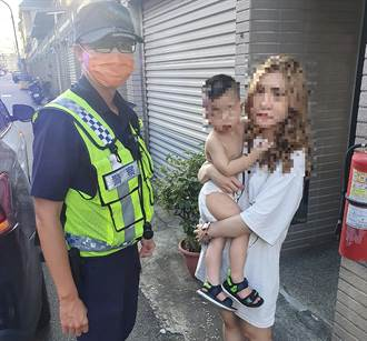 好想媽媽!2歲童只包尿布溜出門 警挨家挨戶助返家