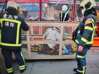 捷運萬大線爆工安意外  67歲工人頭部遭重創 搶救2小時仍不治