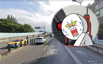 內科人怒炸!這座橋年開6千張紅單  警認了:都躲這偷拍
