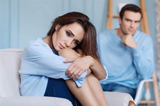 丈夫控告妻婚後冷漠訴請離婚,法官審酌妻子曾傳訊息對丈夫說「如果離婚,我的激流鎮(應為居留證)會被收回」,判准離婚。(示意圖/Shutterstock提供)