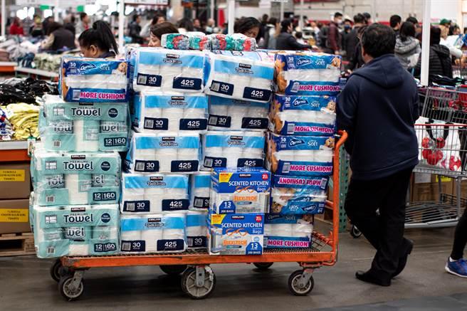 美國日用品大規模缺貨慘況恐再次爆發。(圖/shutterstock)