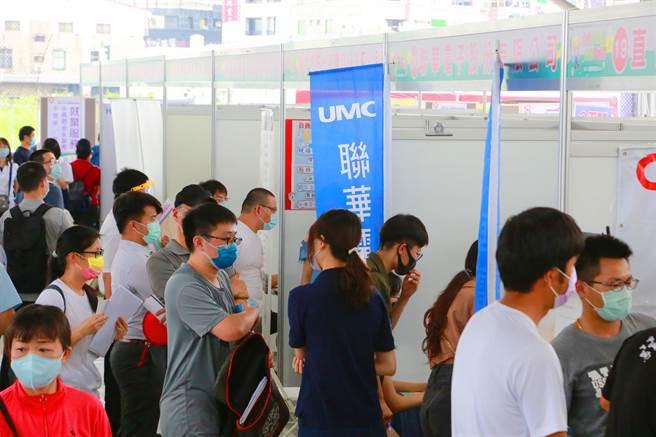 台南市政府9月到11月將連辦3場大型就業博覽會。(台南市政府提供/曹婷婷台南傳真)