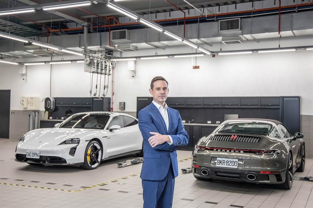 台灣保時捷售後處長Trevor Baseggio包勝傑表示,Porsche Approved Warranty保時捷認證保固服務在台灣車壇上具有無可比擬的獨特性。(圖/台灣保時捷提供)