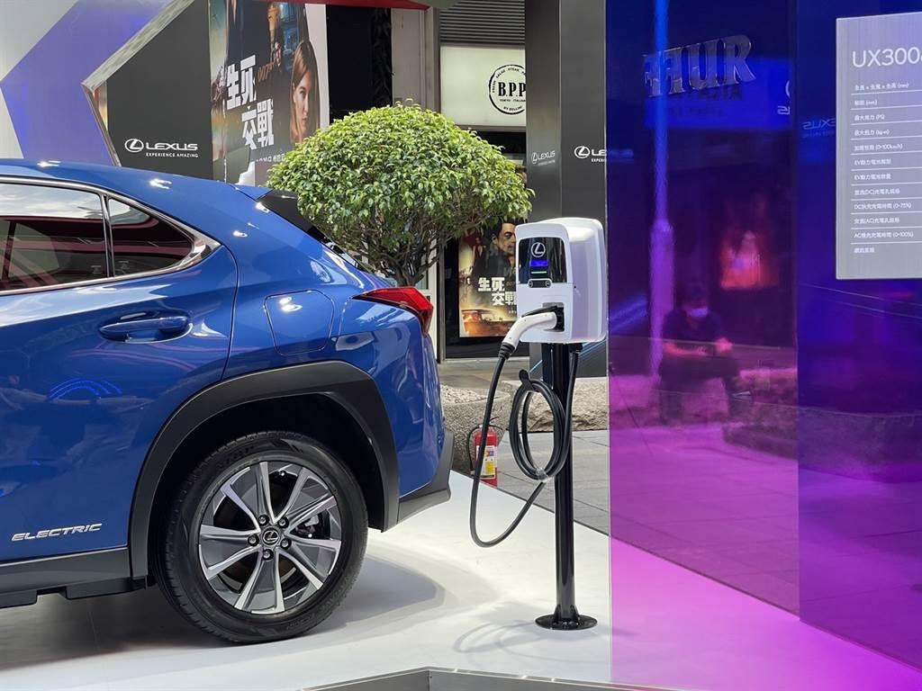 Lexus配合華城電能,全台建置150個快慢充電站點,首批車主可享兩年免費充電服務。(圖/陳彥文攝)