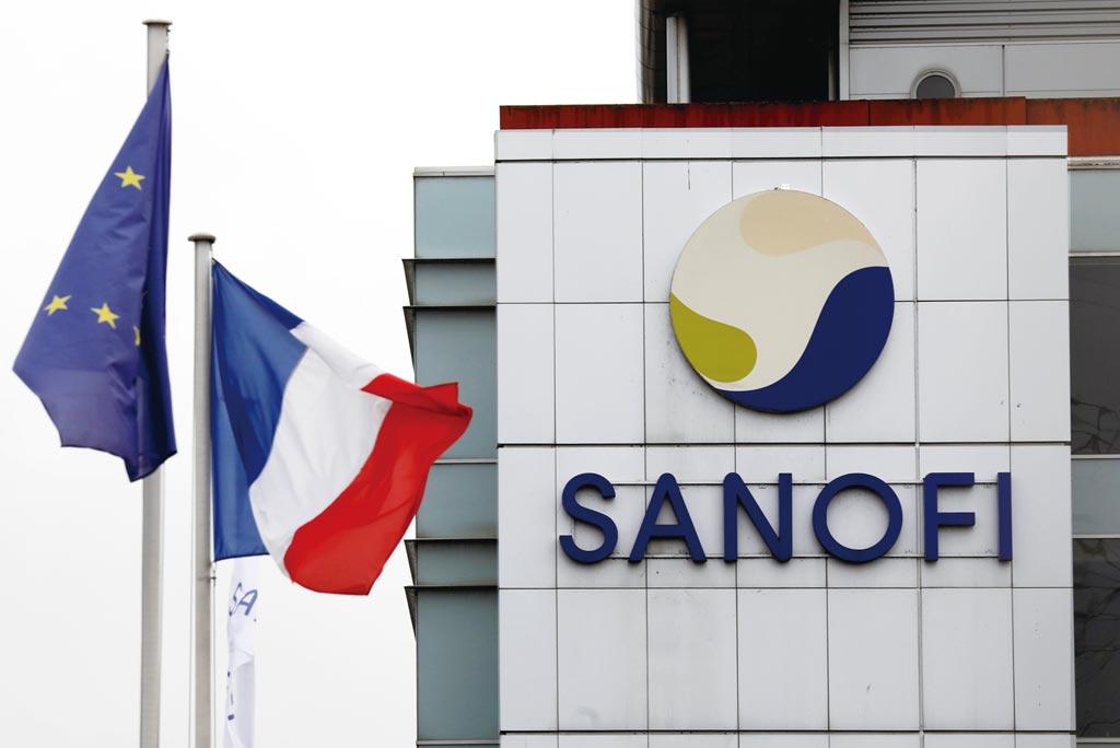 法國藥廠賽諾菲表示,市場上存在多款mRNA新冠疫苗選擇,他們沒道理繼續研發下去。圖/路透