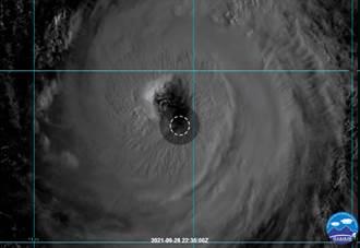 下周又有颱風? 蒲公英再增強 鄭明典曝清晰大眼