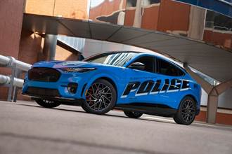 Ford Mustang Mach-E成為第一款通過美國密歇根州警察測試的純電動車