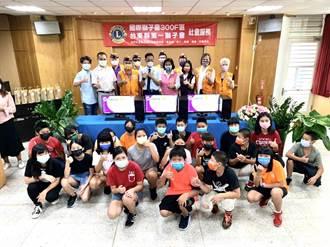 台東縣第一國際獅子會捐贈長濱國小電腦 校長感謝有如及時雨