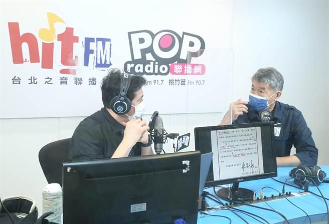 孫文學校總校長張亞中。(POP撞新聞)