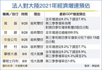 限電風暴下... 高盛:Q3大陸GDP季增零