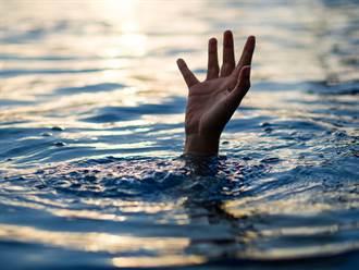 毛到爆!溺水少女半張臉浮水面 空拍畫面曝光