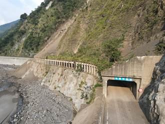 桃源區梅蘭明隧道開放通行 三工處建議機車、小型車走河床便道
