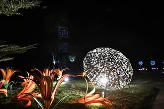 花蓮兩大溫泉區點燈 瑞穗玉里展現光影魅力