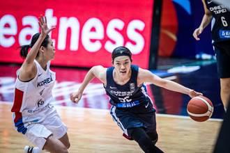 亞洲盃女籃》不敵韓國 中華無緣4強