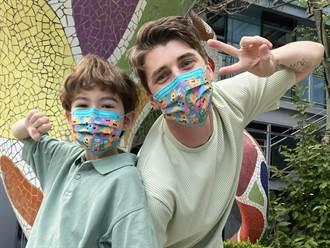 病毒化身可愛怪獸 中衛聯名口罩提撥5%銷售額給公益團體