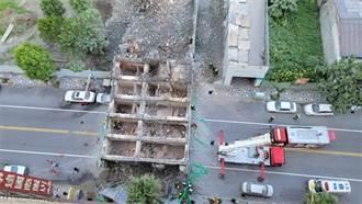 漫波飯店拆一半倒塌 花蓮當地人聽巨響嚇死:以為地震