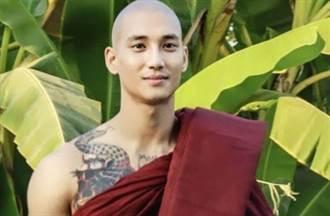 緬甸「天菜和尚」參加示威遭捕入獄 憔悴模樣監獄照曝光