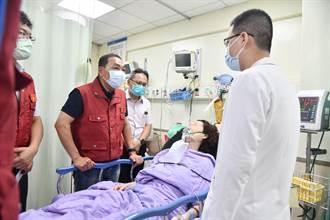 泰山民宅惡火一家3死2傷 新北市長侯友宜前往醫院慰問
