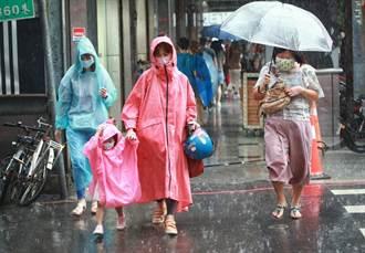 對流雨彈午後開炸 5縣市豪大雨特報