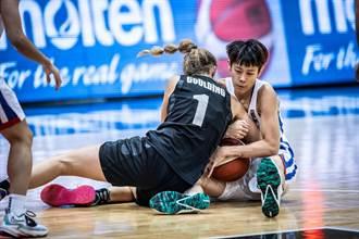 亞洲盃女籃》禁區慘遭肆虐 中華不敵紐西蘭連兩屆第6