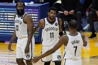 NBA》放水更徹底!籃網首場熱身賽三巨頭都不打