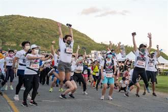 綠島馬拉松3日清晨開跑 選手興奮:今年第1場馬拉松