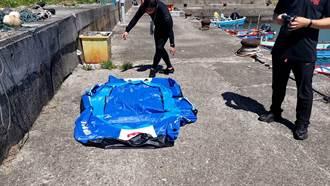 貢寮澳仔漁港乘充氣艇漏氣 一家3口受困礁岩獲救