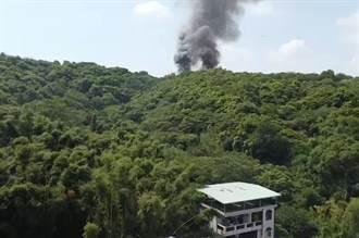 桃消防分隊長休假練習空拍機 突見山區大火通報立功