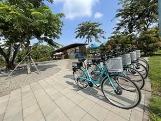 帶動山區慢活旅遊 山上水道博物館推出電動輔助腳踏車服務