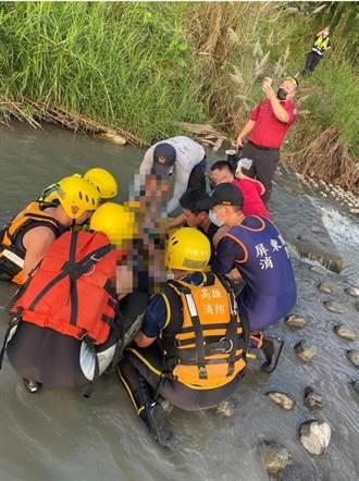 疑從高屏大橋墜落 40歲男獲救後意識模糊急救中
