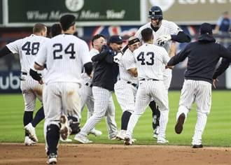 MLB》法官再見安打 洋基連5年殺入季後賽