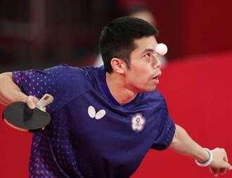 莊智淵桌球亞錦賽扳倒日本選手 晉級4強篤定有牌