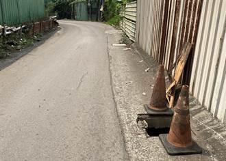男子偷水溝蓋 騎機車逆向行駛被捕
