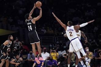 NBA》籃網20歲菜鳥替補轟21分 納許感嘆難進輪替