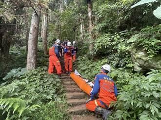 醫生娘帶員工爬獅潭仙山步道 摔落100公尺深谷慘死