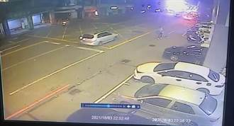 男子膽大包天 中壢警分局前縱火企圖燒警車被逮